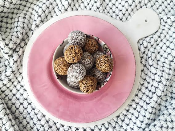 Almond Butter Beauty Bliss Balls
