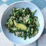 Charred Broccoli Brown Rice Salad