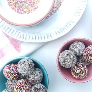 choc bliss balls