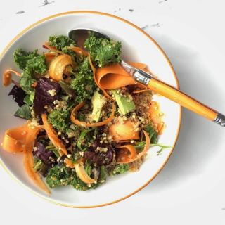 crunchy-buckwheat-carrot-quinoa-salad-turmeric-dressing-shelley-k-recipes
