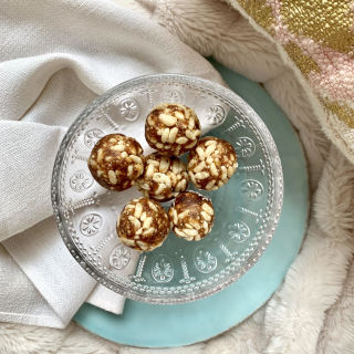 Treats Caramel Rice Crispy Balls